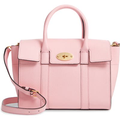 Mulberry Small Bayswater Leather Satchel - Pink