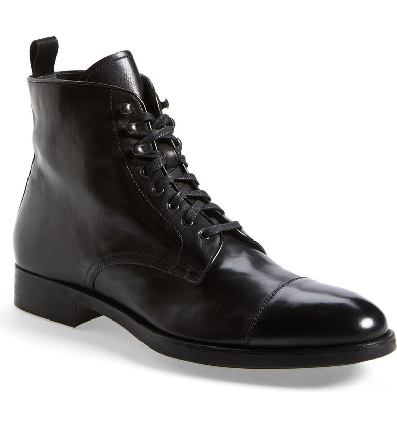 TO BOOT NEW YORK 'Stallworth' Cap Toe Boot, Main, color, 001
