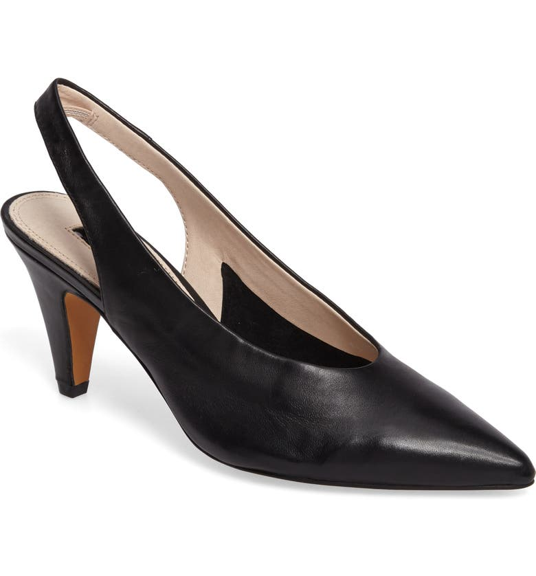 TOPSHOP Jetset Slingback Pump, Main, color, 001