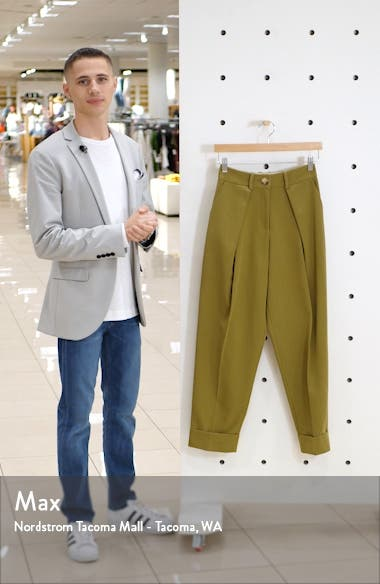 Ovoid Pleated Trousers, sales video thumbnail