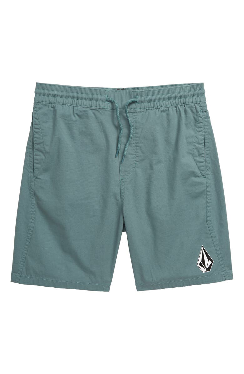VOLCOM Deadly Stones Shorts, Main, color, AGAVE