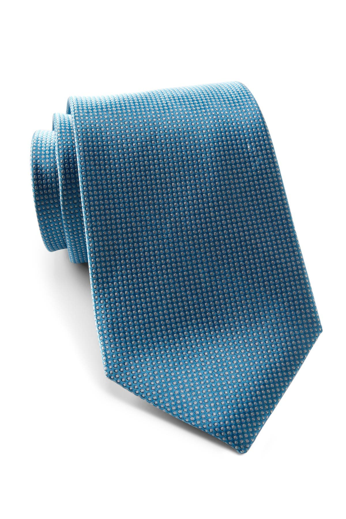 Image of Tommy Hilfiger Silk Textured Non-Solid Tie