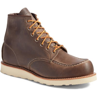 Red Wing 6 Inch Moc Toe Boot, Grey