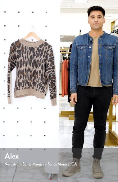 Lana Leopard Sweater, sales video thumbnail