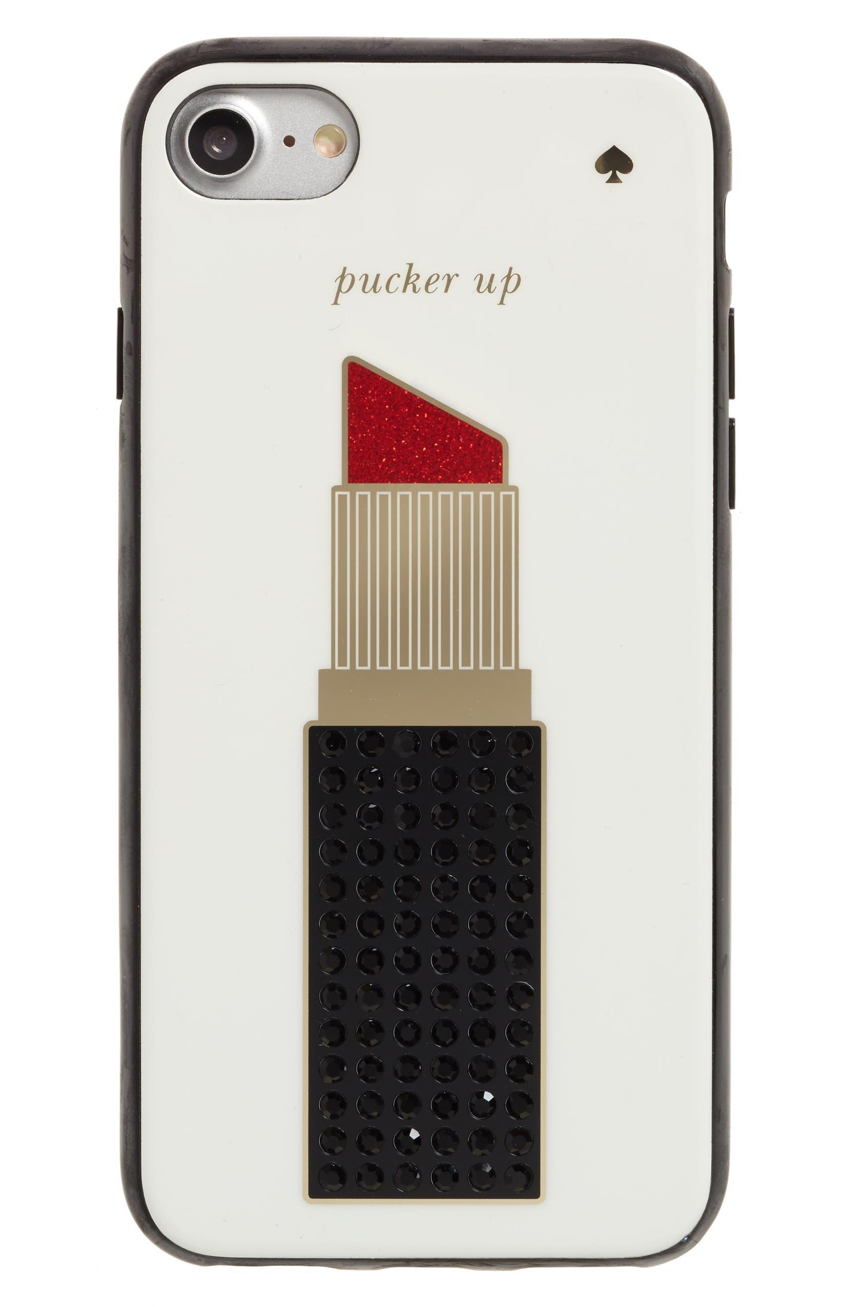 timeless design 33e45 cf501 pucker up iPhone 7/8 case