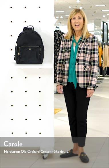 taylor large nylon backpack, sales video thumbnail