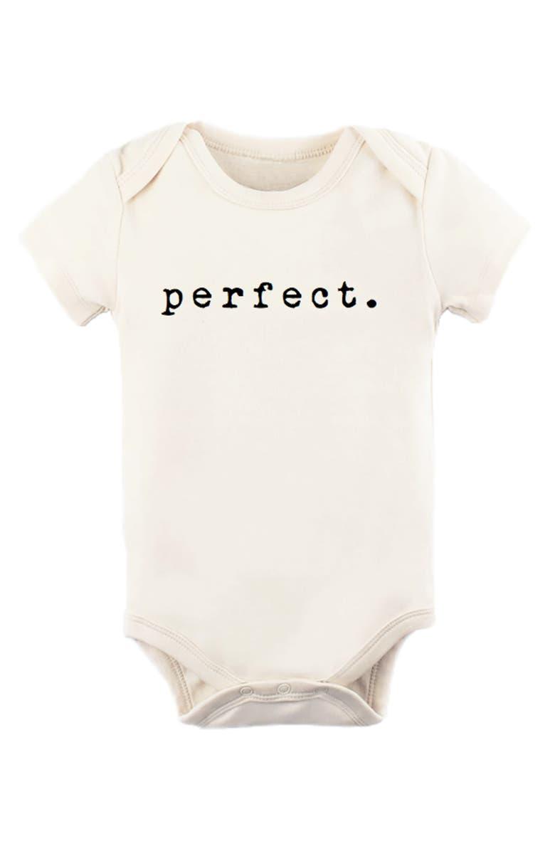 TENTH & PINE Perfect Organic Cotton Bodysuit, Main, color, NATURAL