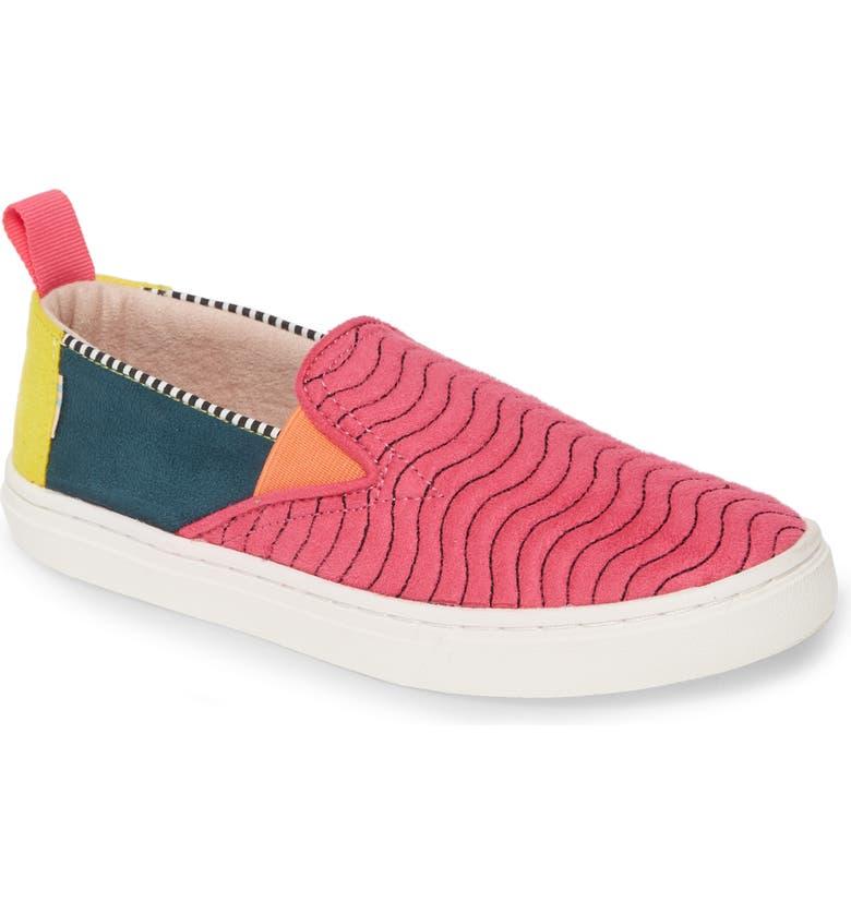 TOMS Luca Sneaker, Main, color, PINK