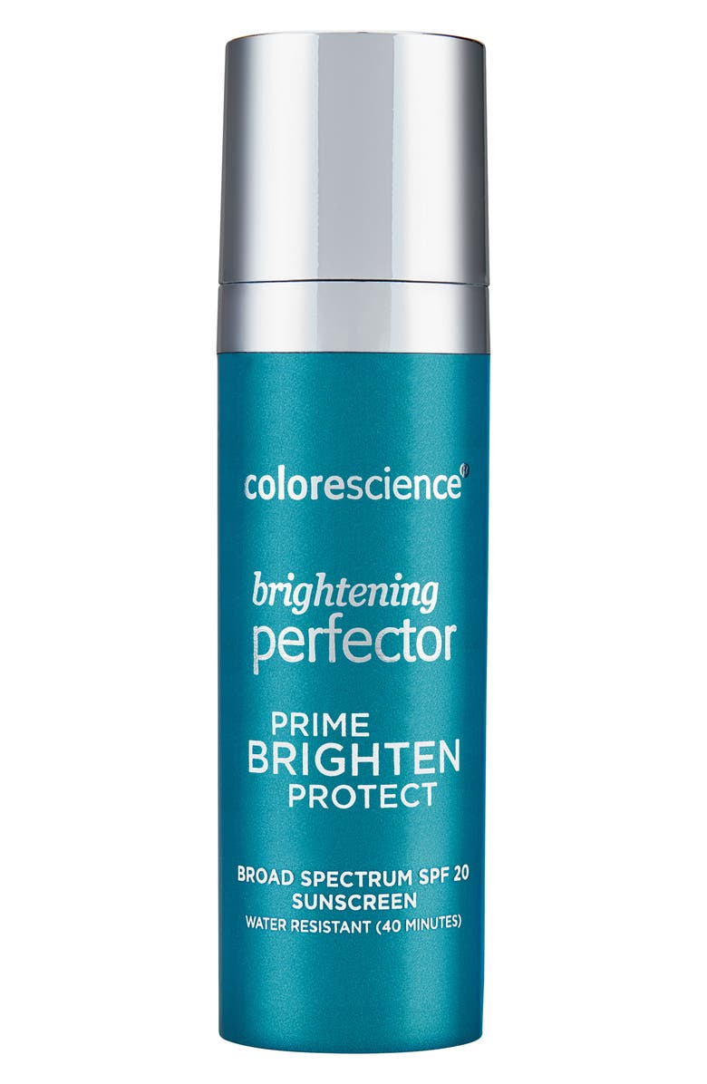 COLORESCIENCE<SUP>®</SUP> Brightening Perfector SPF 20, Main, color, SOFT YELLOW