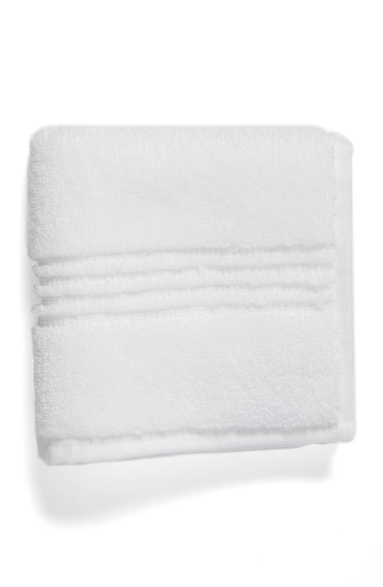 NORDSTROM AT HOME Organic Hydrocotton Heathered Washcloth, Main, color, 100