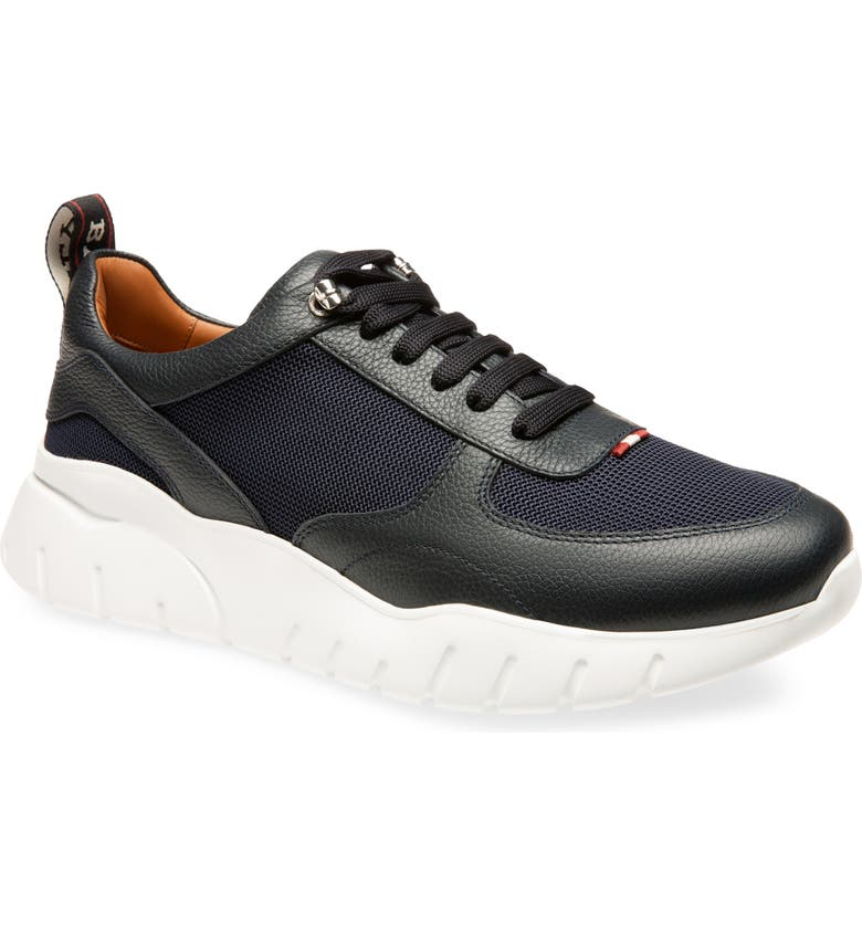 BALLY Biggy Sneaker, Main, color, BLUE NAVY