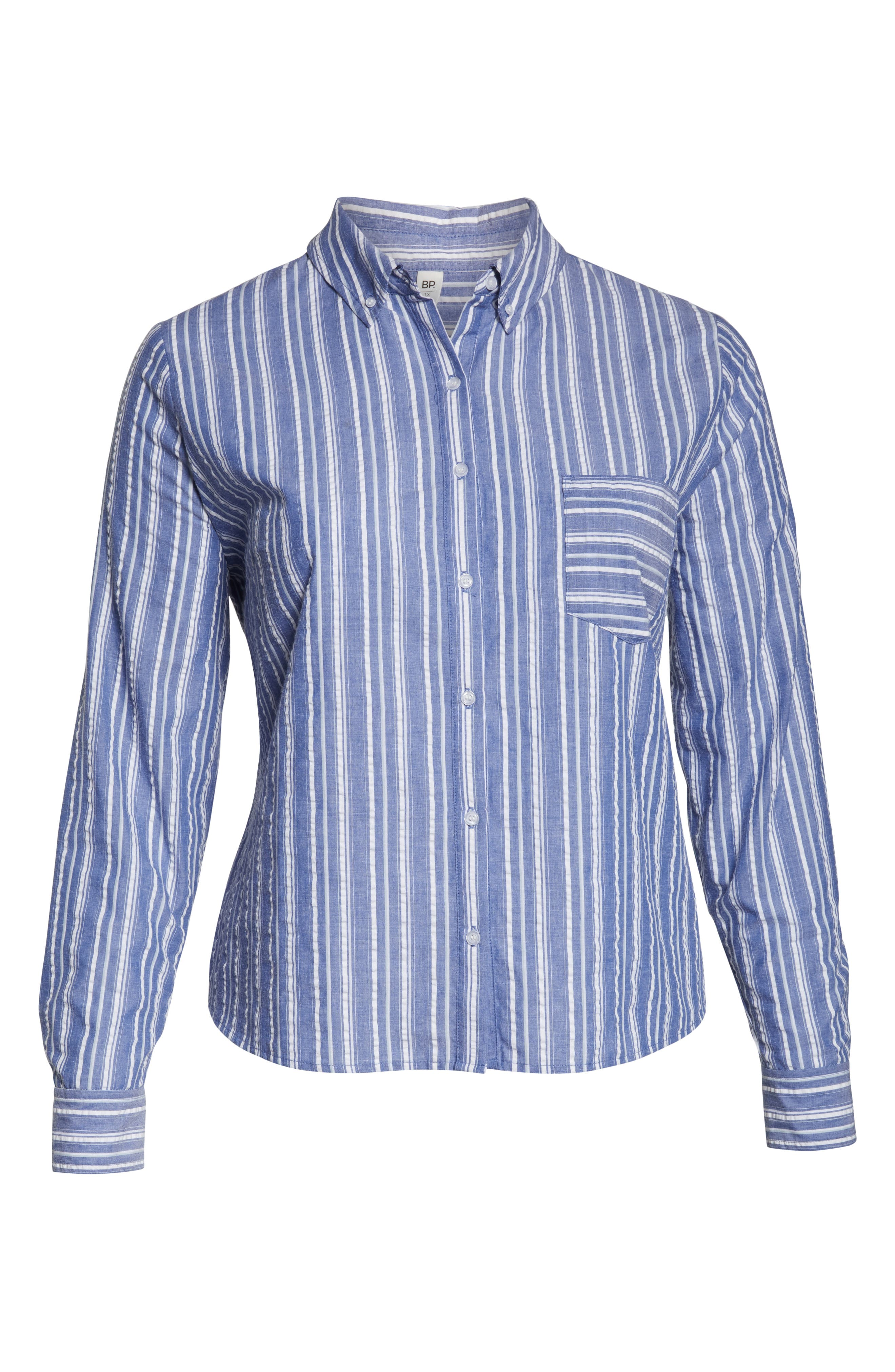 ,                             Seersucker Shirt,                             Alternate thumbnail 11, color,                             030