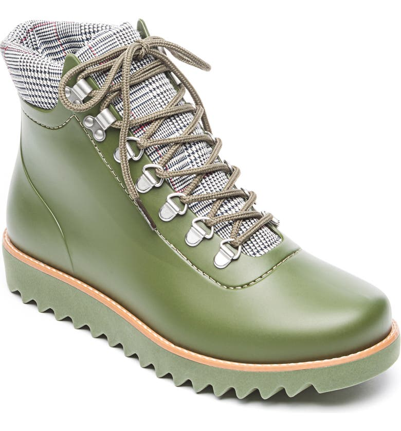 BERNARDO Winnie Waterproof Rain Bootie, Main, color, 301