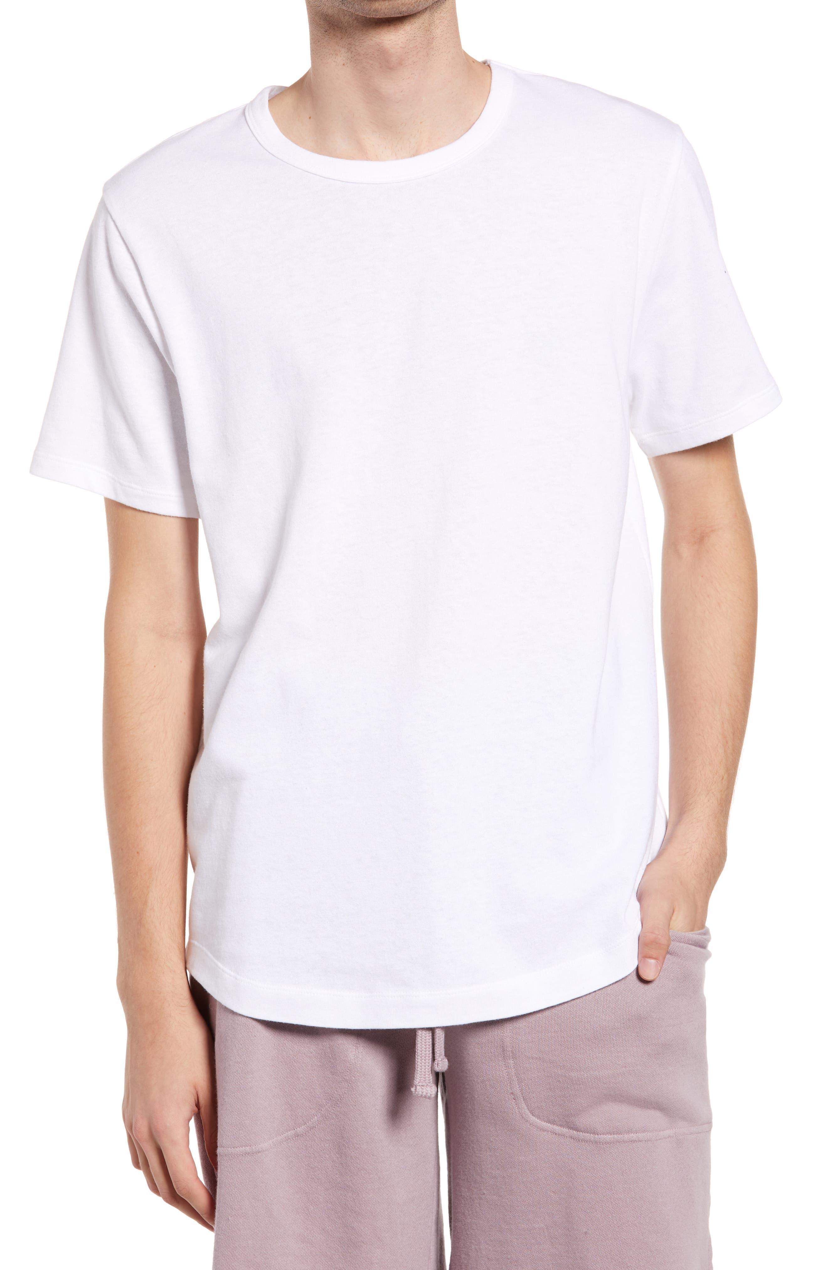 Men's Cotton & Hemp Sleep T-Shirt