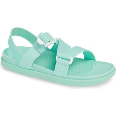 Native Shoes Zurich Vegan Sandal, Blue/green
