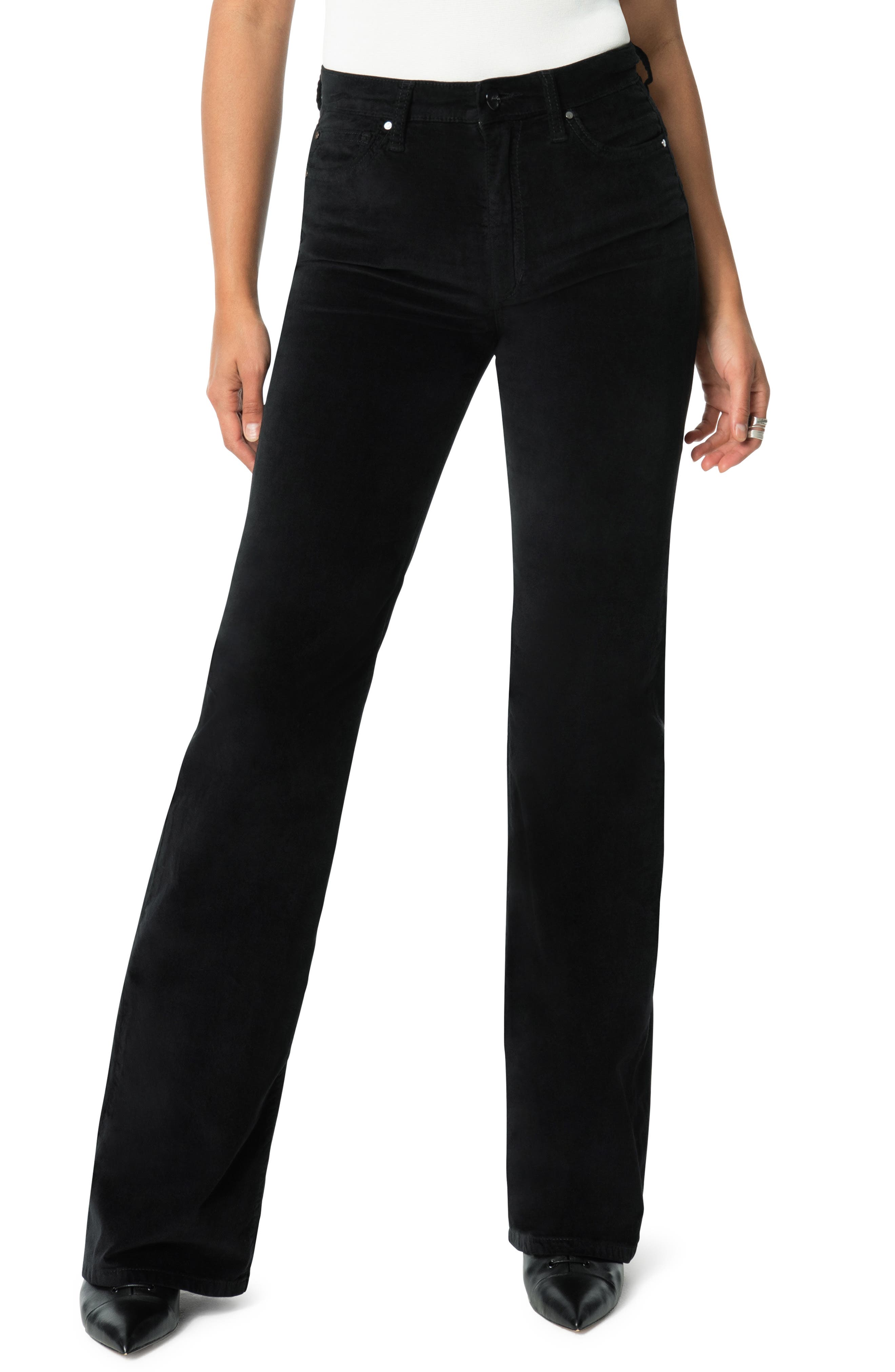 Joe's Jeans The Molly High Waist Velvet Flare Jeans