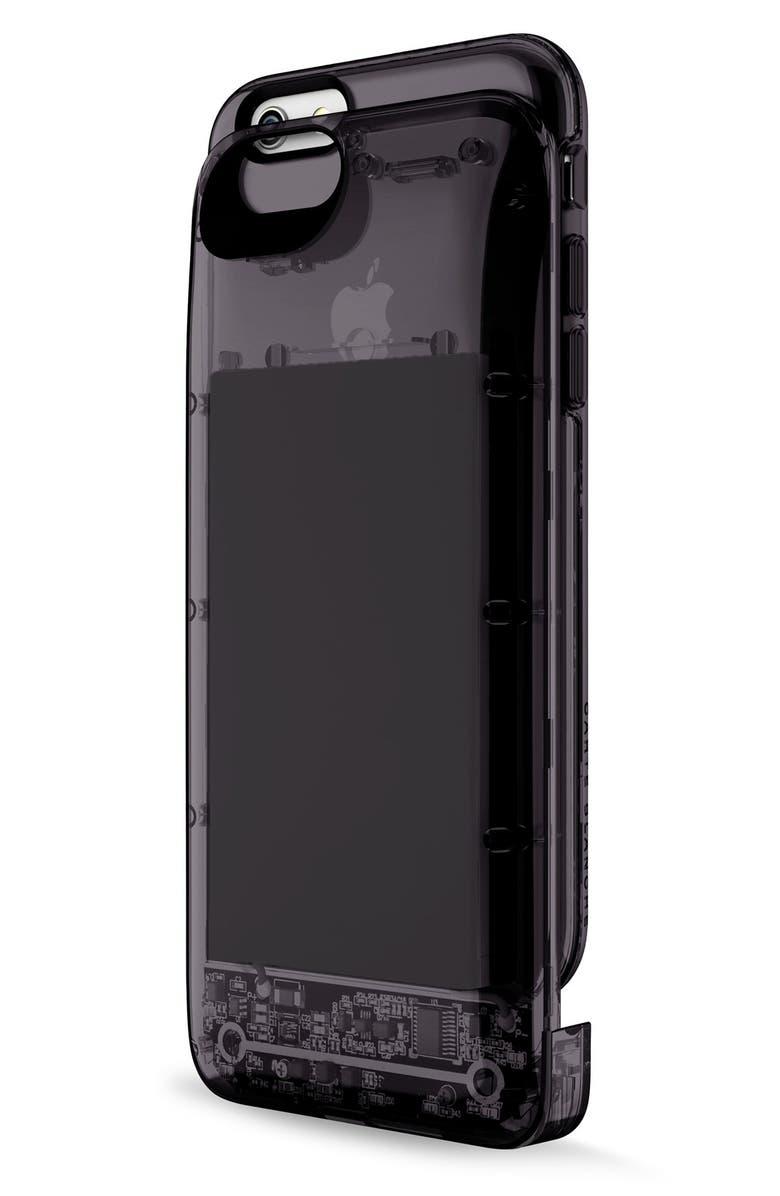 BOOSTCASE 'Power Case' iPhone 6 & 6s Case & Battery, Main, color, 001