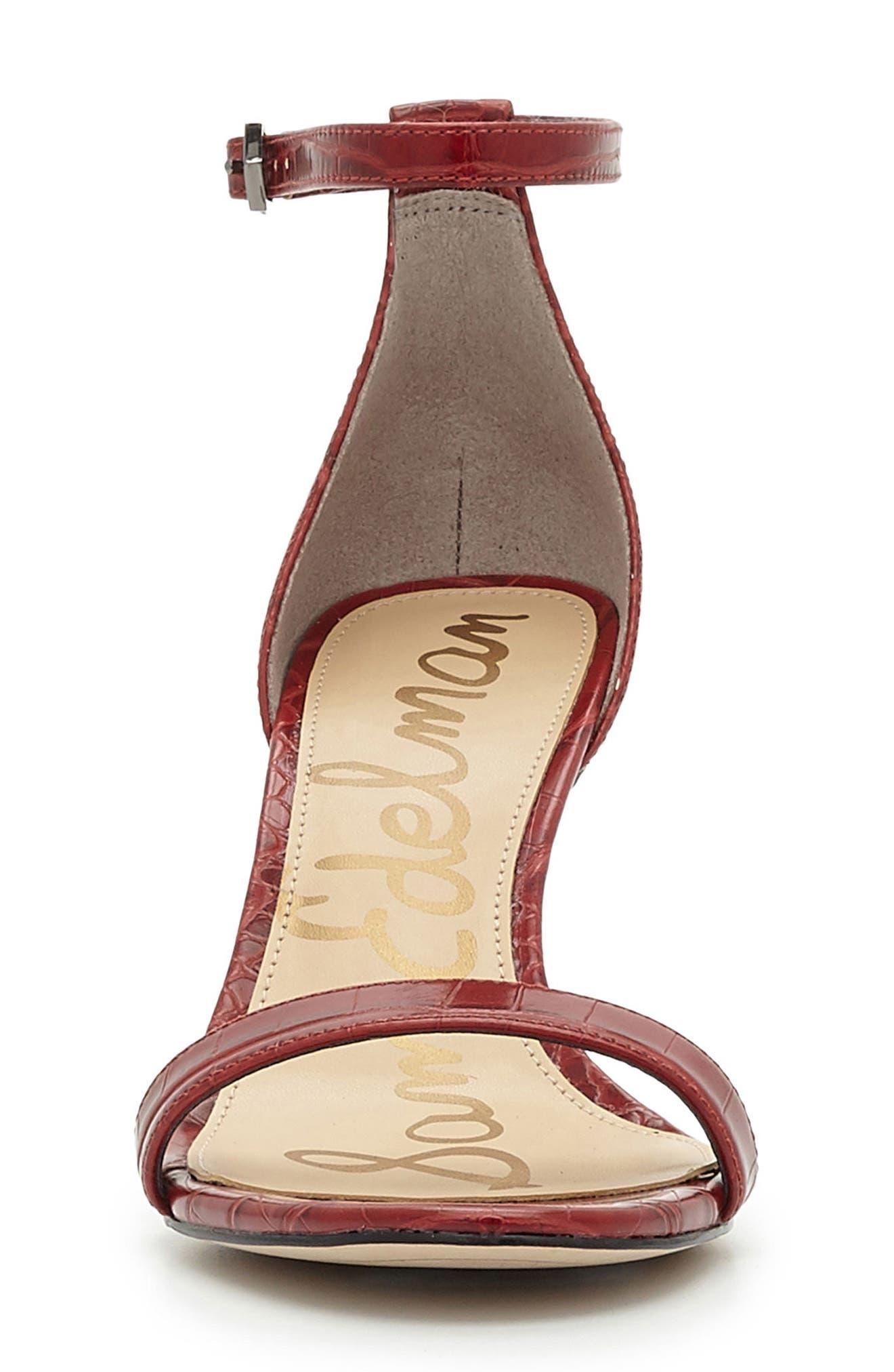 ,                             'Patti' Ankle Strap Sandal,                             Alternate thumbnail 111, color,                             602