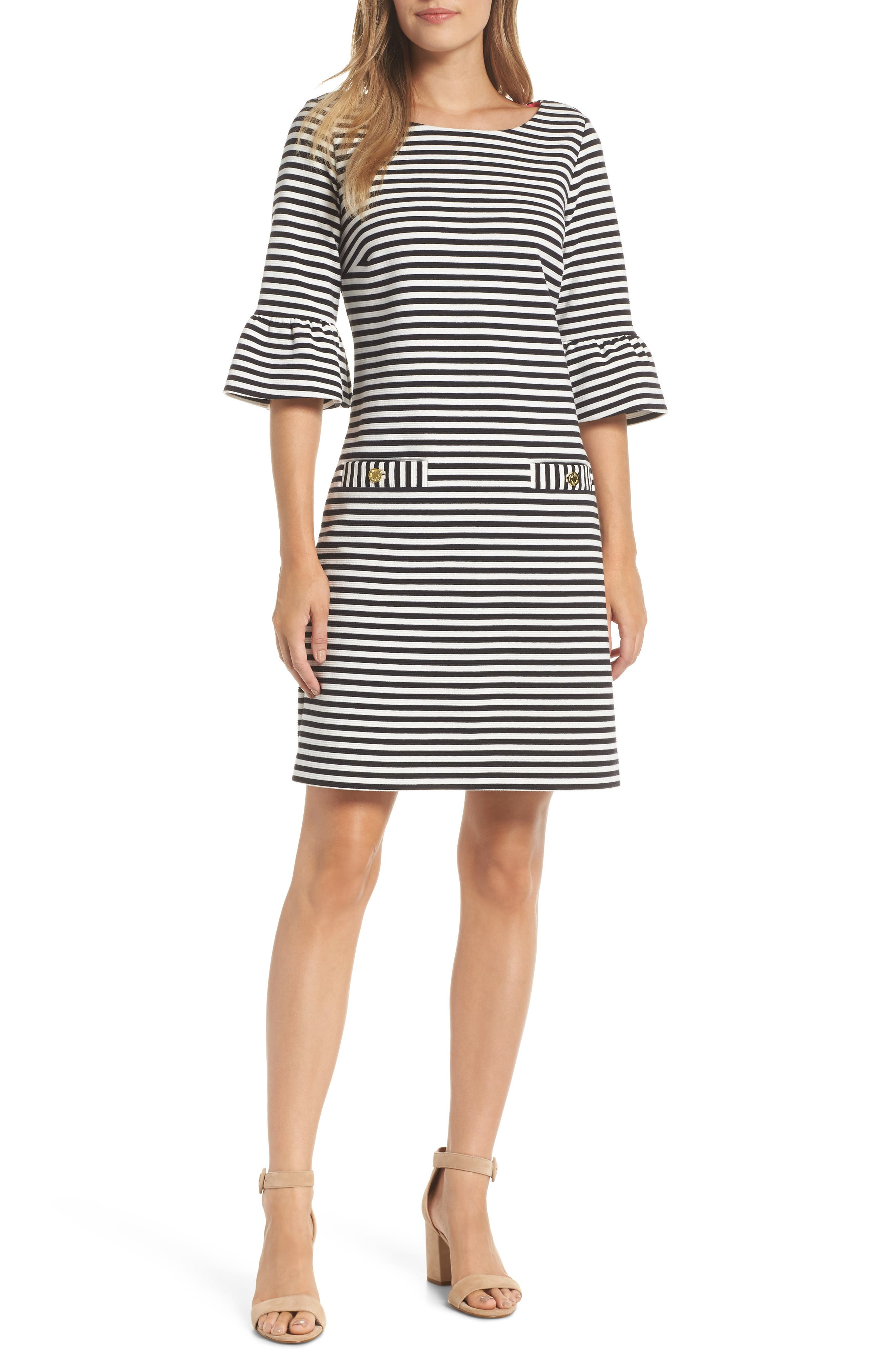 2cd70e7f5cfbbf Lilly Pulitzer Alden Stripe Shift Dress