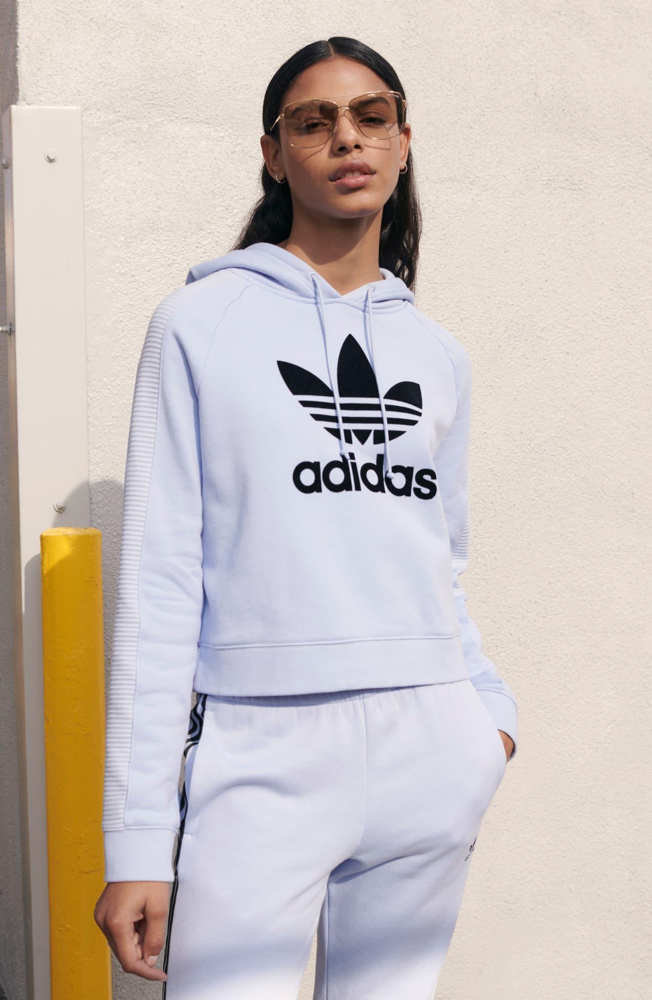 279781de7ef adidas Originals Crop Hoodie   Nordstrom