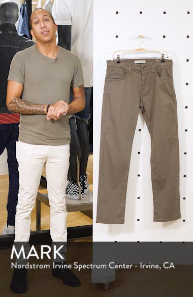 Zach Straight Leg Twill Pants, sales video thumbnail