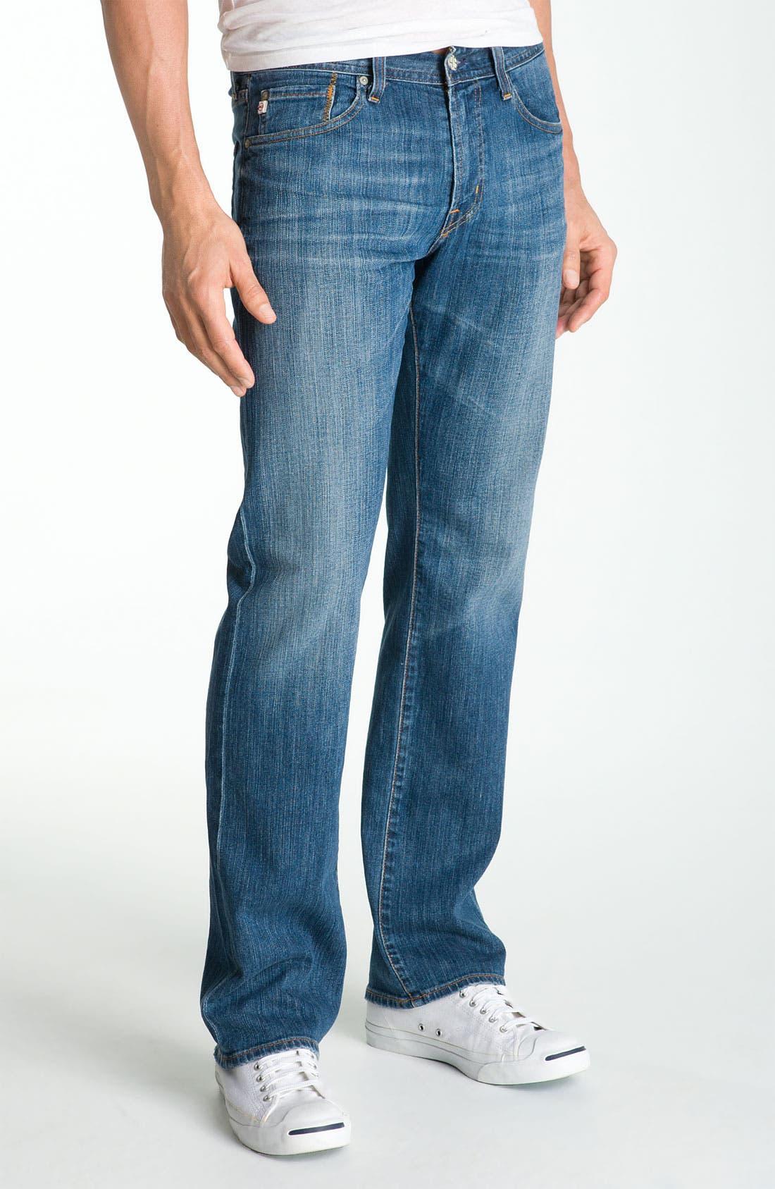 ,                             'Protégé' Straight Leg Jeans,                             Main thumbnail 29, color,                             423