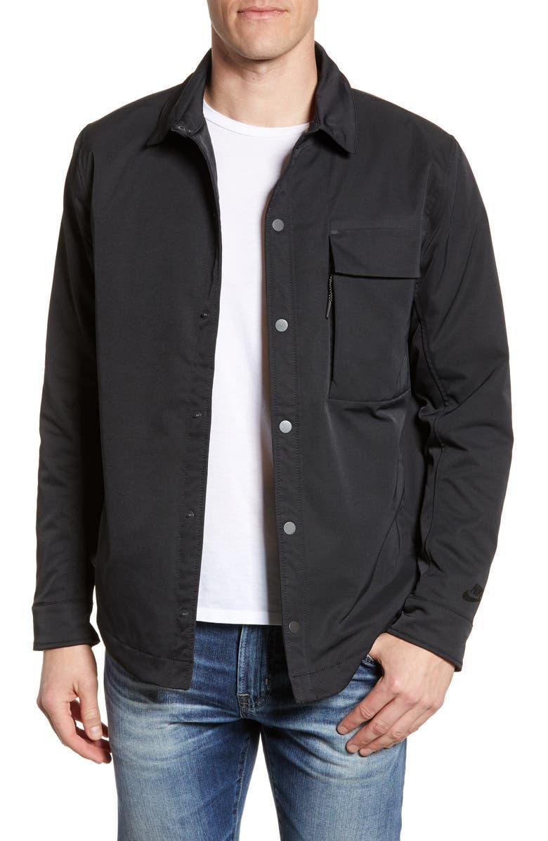 NIKE Sportswear Men's Insulated Jacket, Main, color, BLACK/ BLACK