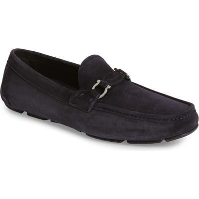 Salvatore Ferragamo Teddy Driving Shoe W - Blue