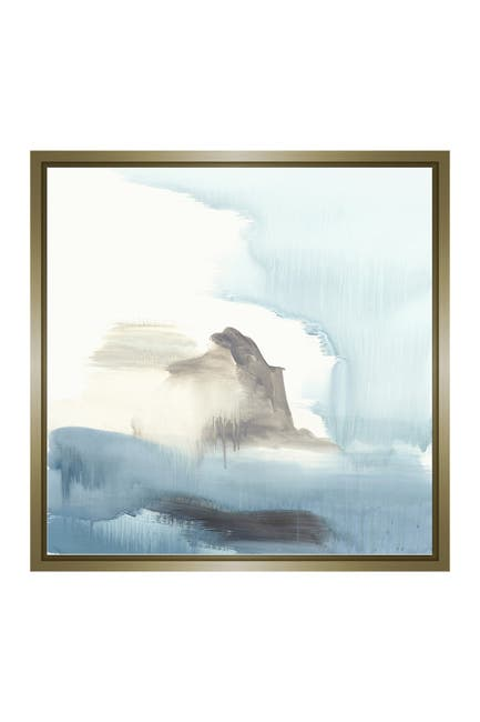 Image of PTM Images Rocks and Sea III Gallery Wrapped Giclee Print