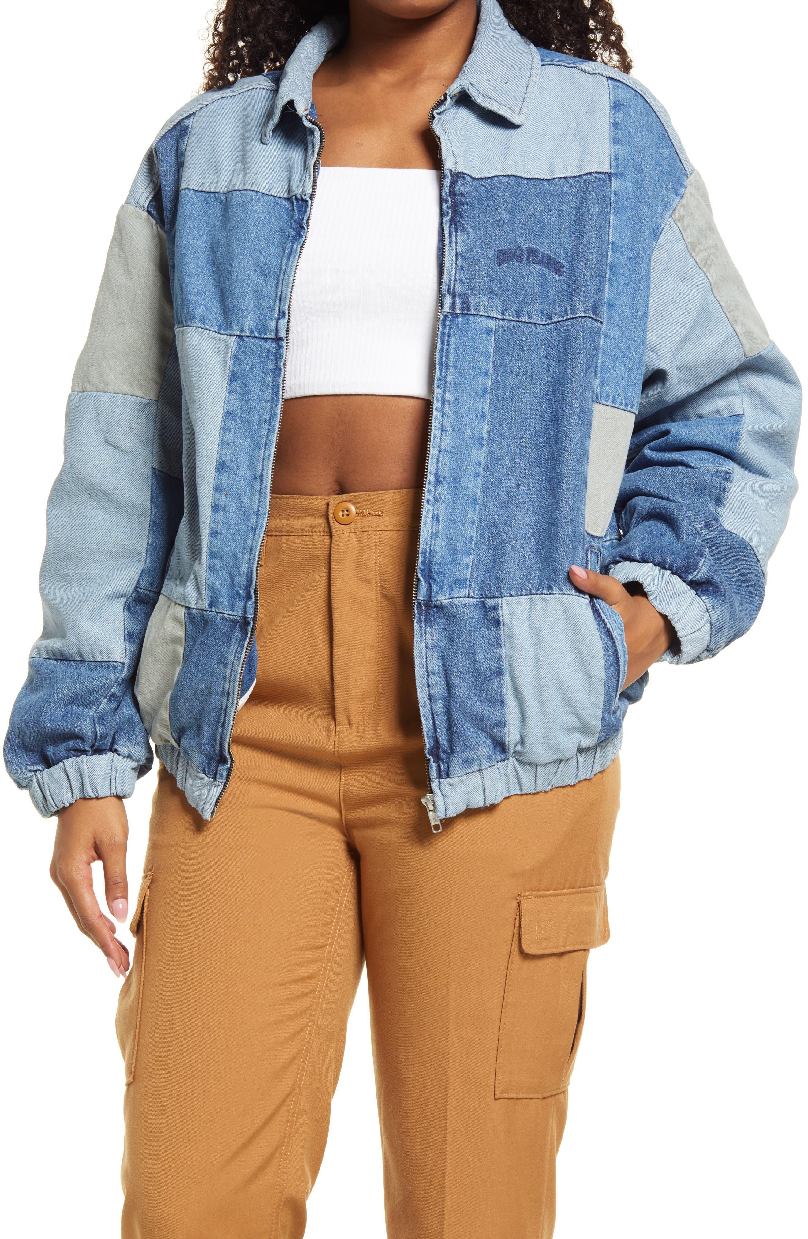Women's Billy Patchwork Denim Jacket