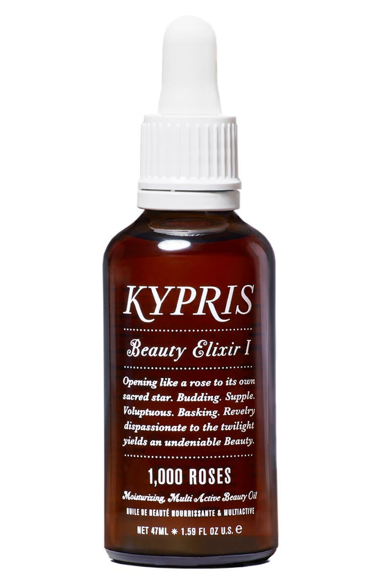 KYPRIS Beauty Elixir I: 1000 Roses Moisturizing Face Oil, Main, color, NO COLOR