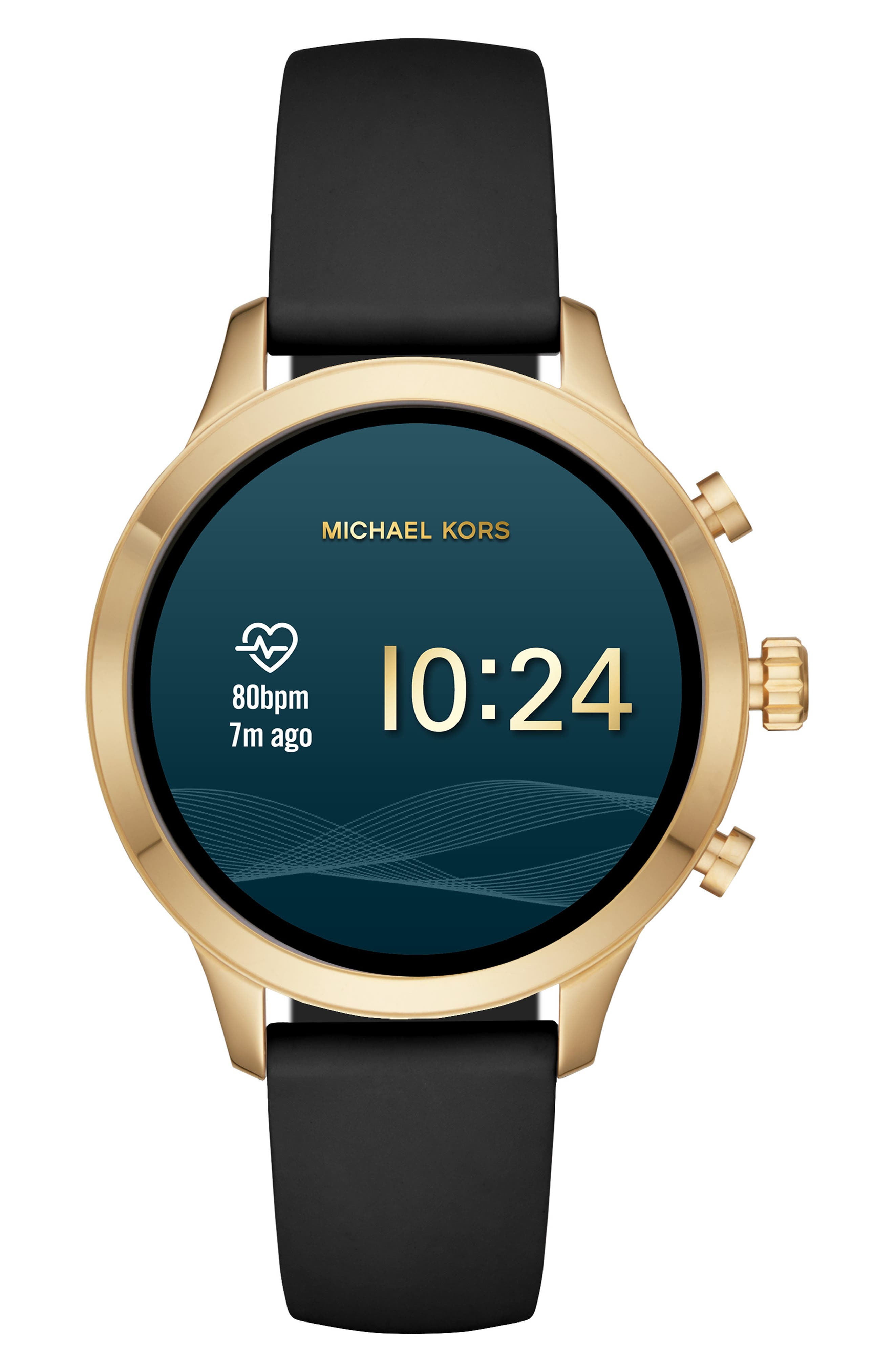 ,                             MICHAEL Michael Kors Access Runway Smart Watch, 41mm,                             Alternate thumbnail 12, color,                             002