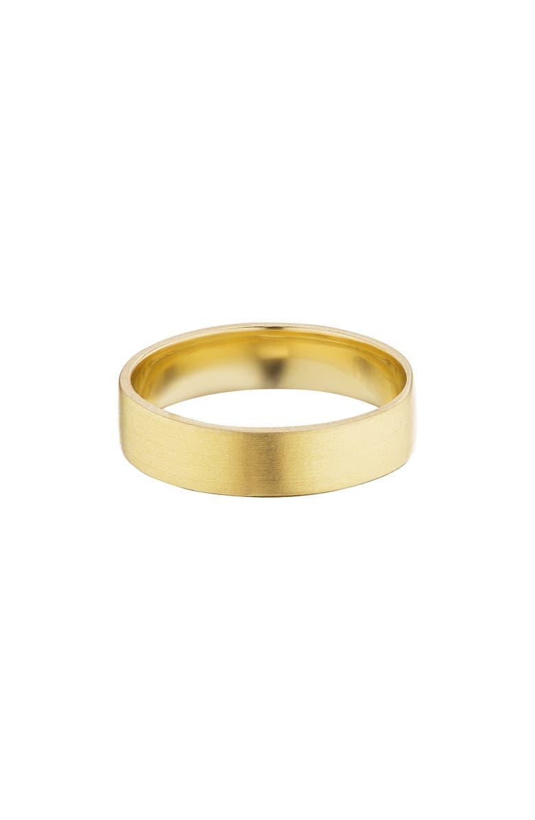 MANIAMANIA Kismet Band Ring, Main, color, YELLOW GOLD