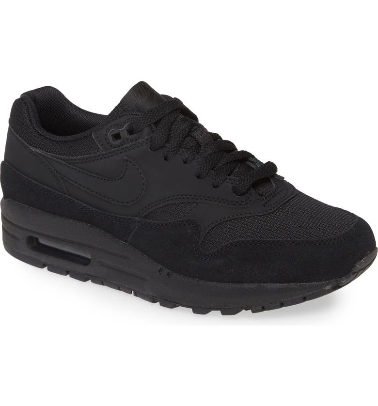 NIKE Air Max 1 ND Sneaker, Main, color, BLACK/ BLACK/ BLACK/ WHITE