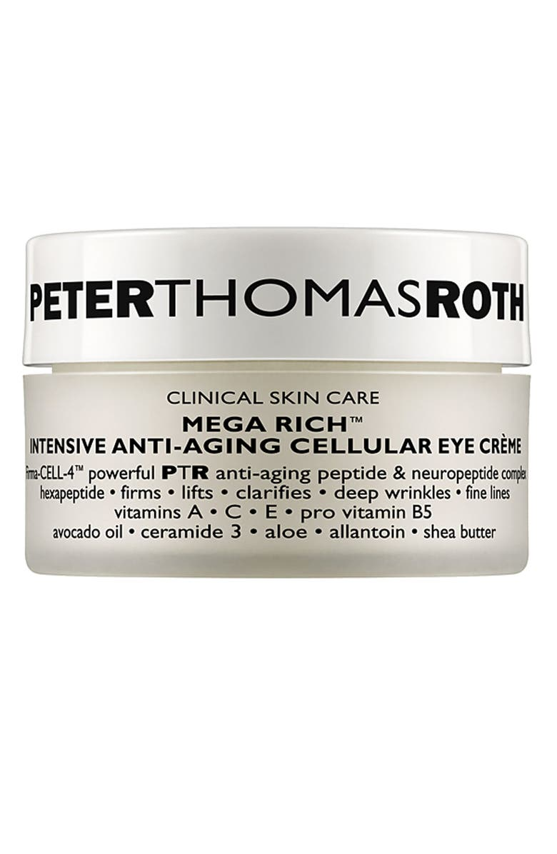 PETER THOMAS ROTH Mega Rich Intensive Anti-Aging Cellular Eye Crème, Main, color, NO COLOR