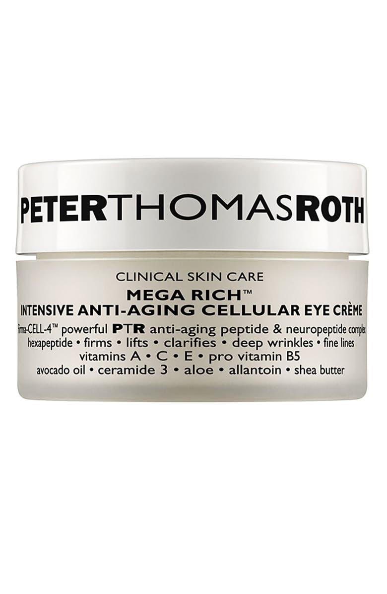 PETER THOMAS ROTH Mega Rich Intensive Anti-Aging Cellular Eye Crème, Main, color, 000