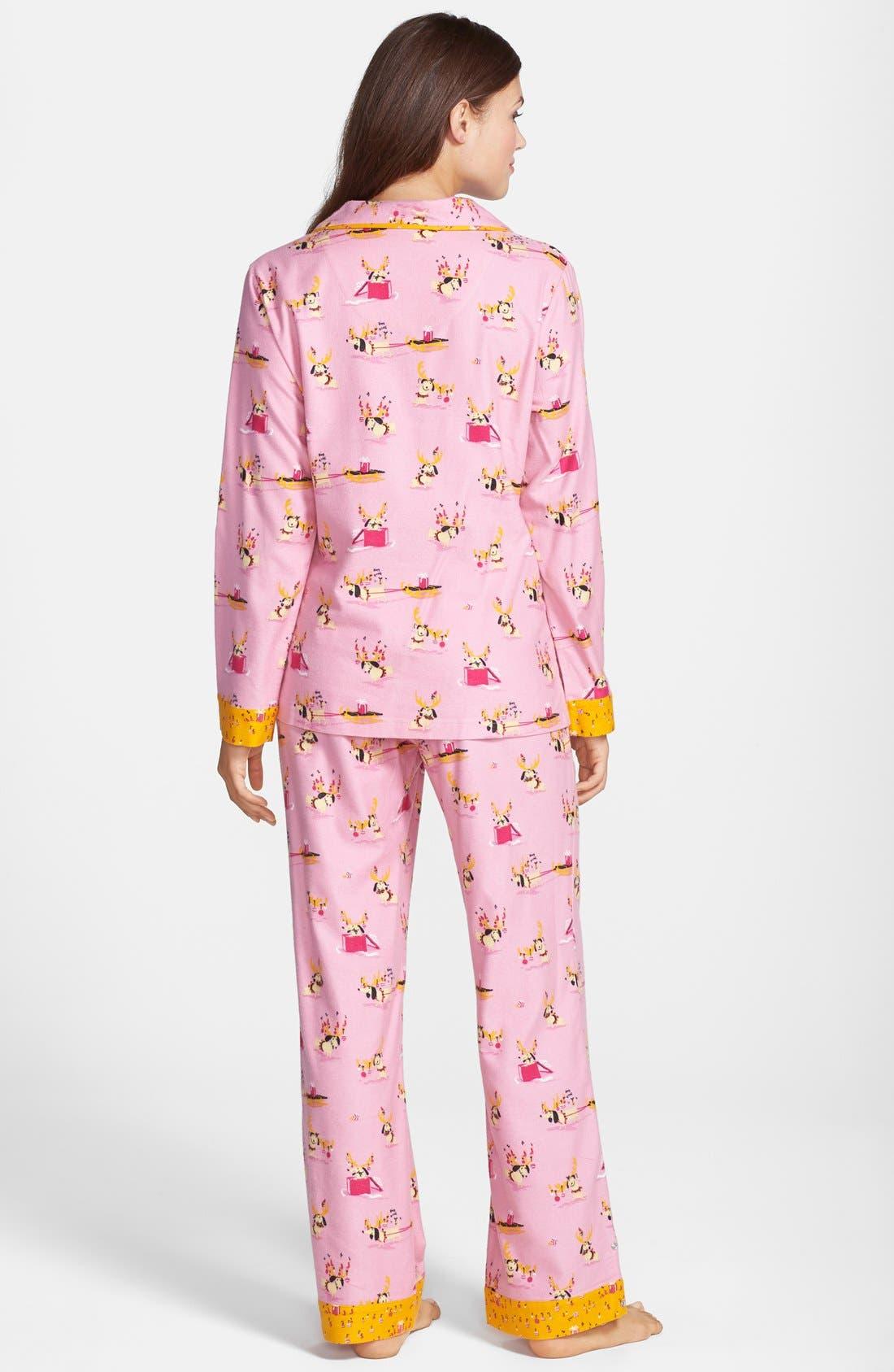 ,                             Flannel Pajamas,                             Alternate thumbnail 93, color,                             690