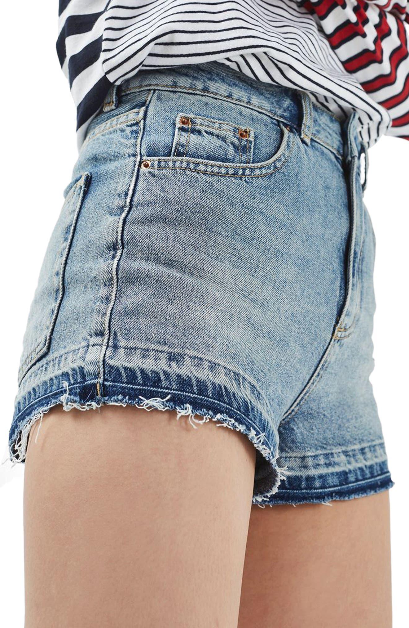 Released Hem Mom Shorts, Main, color, 400