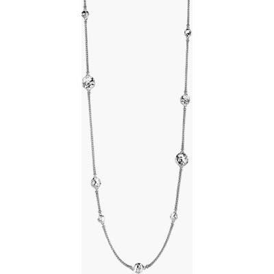 John Hardy Dot Hammered Station Necklace