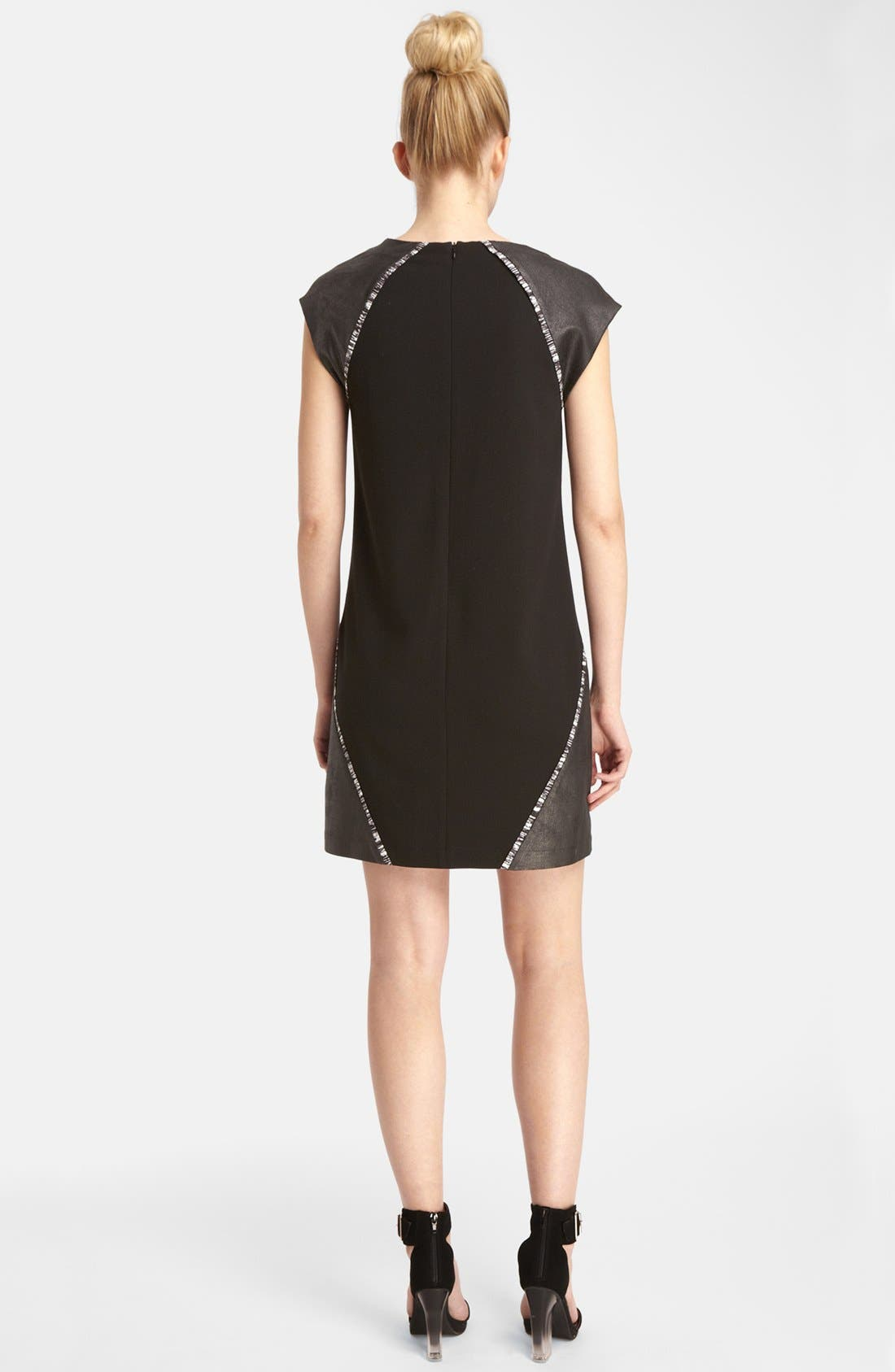 ,                             'Cameron' Shift Dress,                             Alternate thumbnail 2, color,                             001