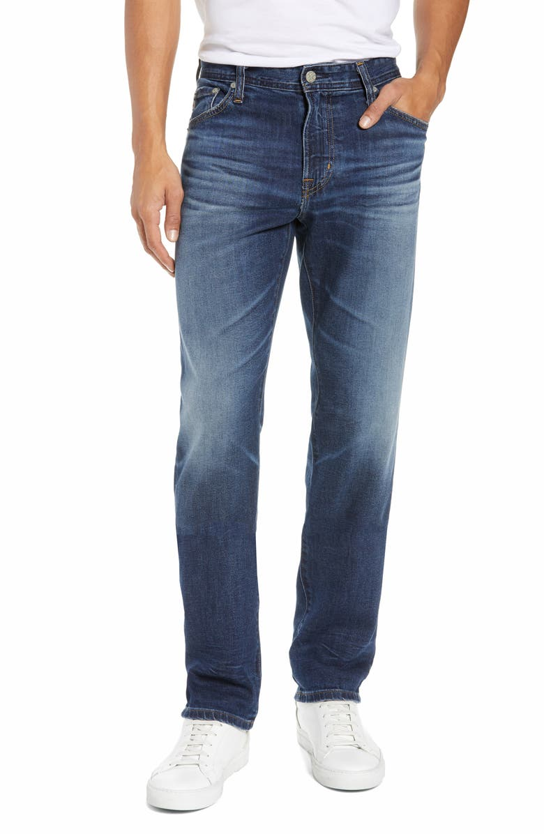AG Everett Slim Straight Leg Jeans, Main, color, 476