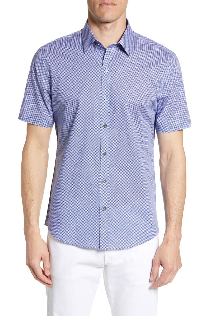 ZACHARY PRELL Rigo Regular Fit Shirt, Main, color, 600