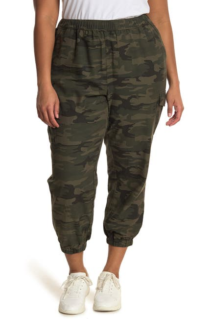 Image of Sanctuary Camo Pull-On Cargo Jogger Pants