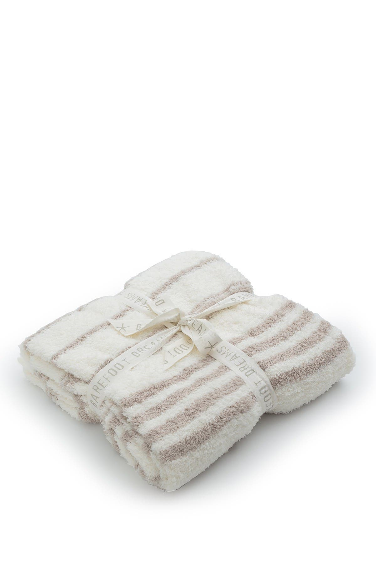 "Image of Barefoot Dreams Cozy Chic Striped Throw - 45"" x 60"""