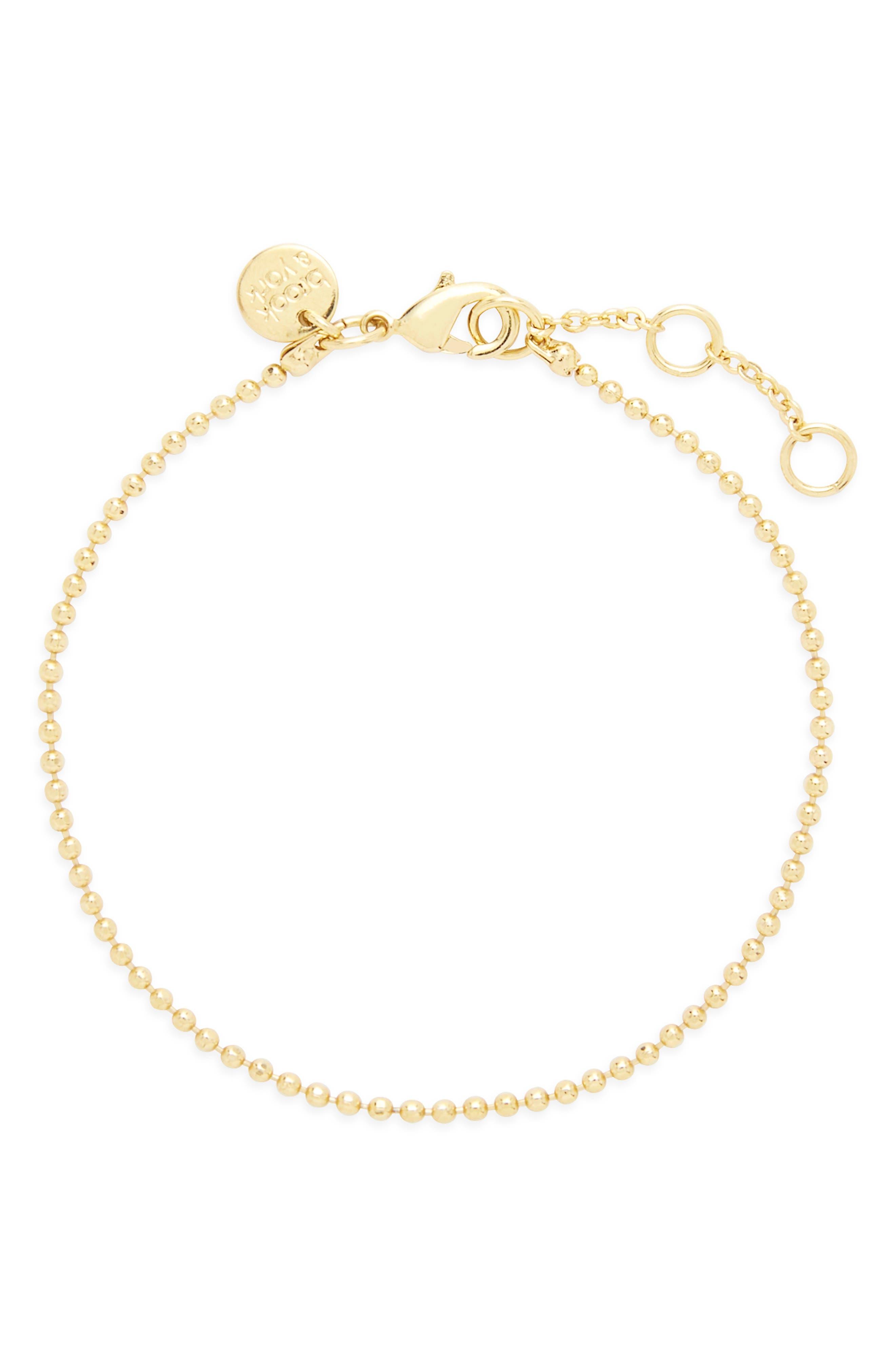 Mae Bead Chain Bracelet