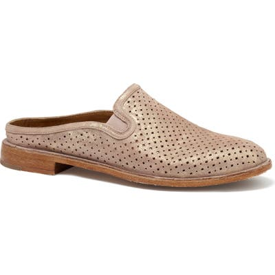 Trask Ashley Perforated Mule- Pink