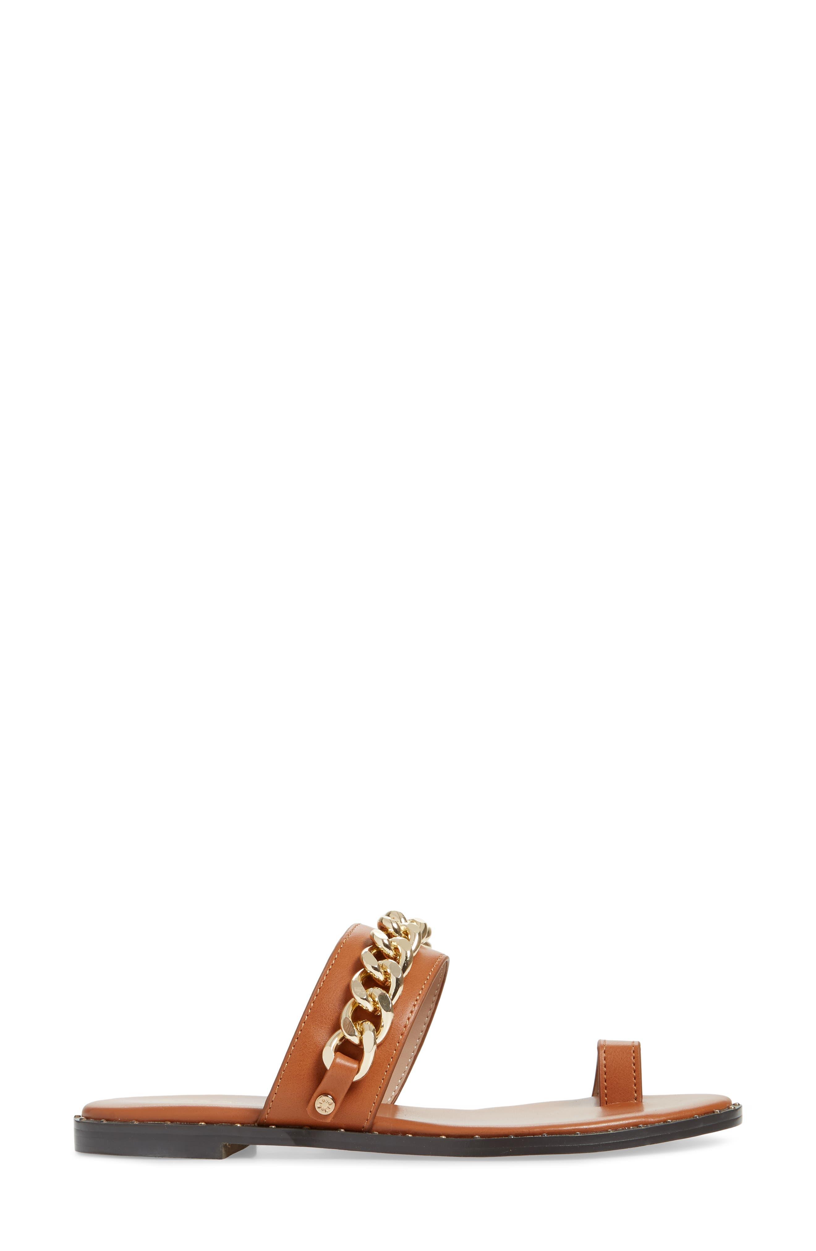 ,                             Zola Chain Slide Sandal,                             Alternate thumbnail 9, color,                             200
