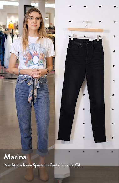 Jane Super High Waist Ankle Skinny Jeans, sales video thumbnail
