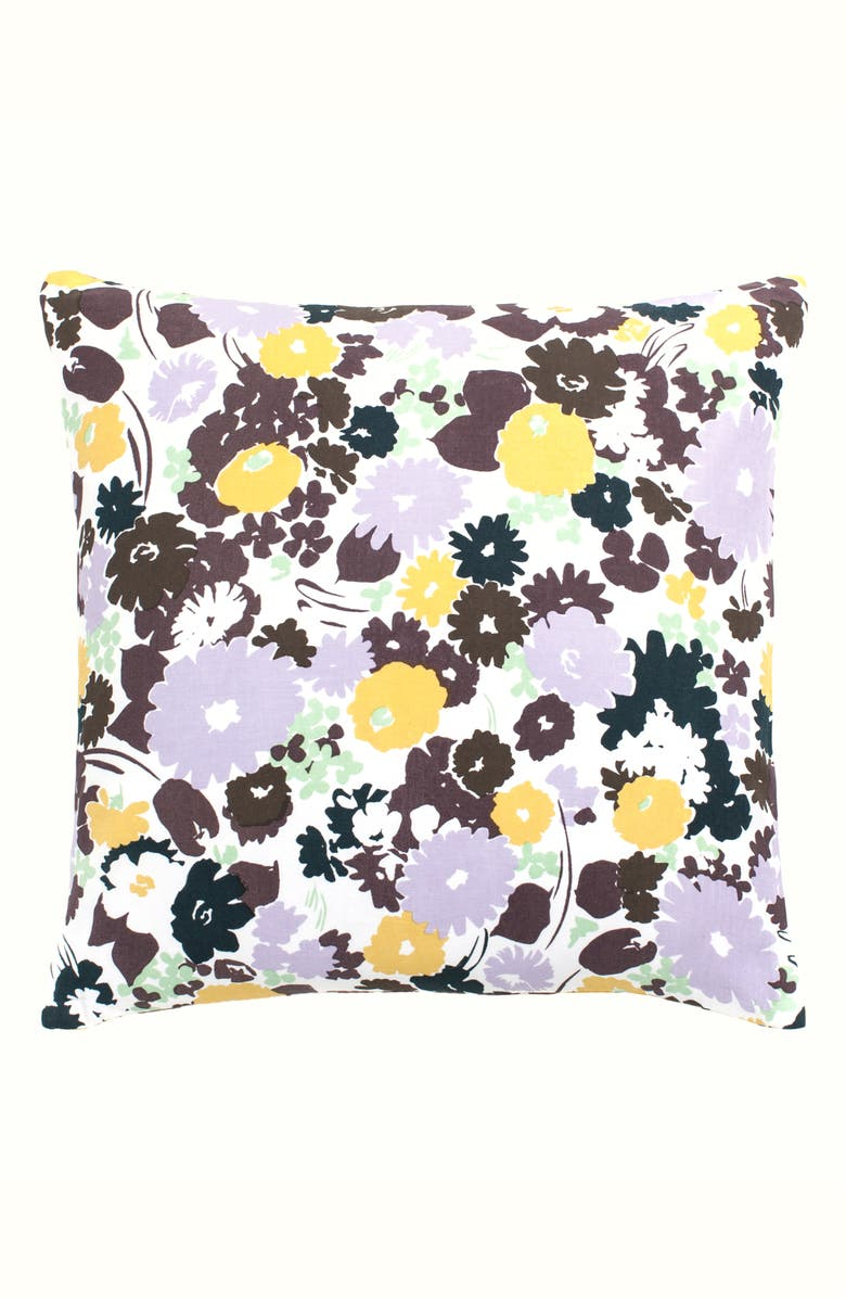 KATE SPADE NEW YORK swing floral accent pillow, Main, color, MULTI
