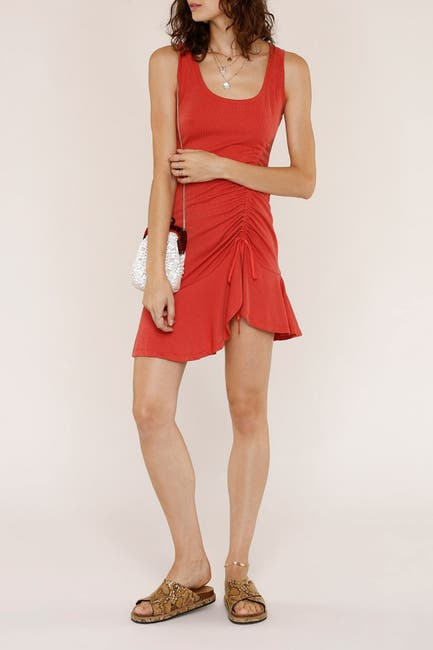 Image of Heartloom Taye Ruched Seam Mini Dress